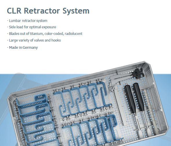 Wirbelsäulen Instrumente CLR Retractor System
