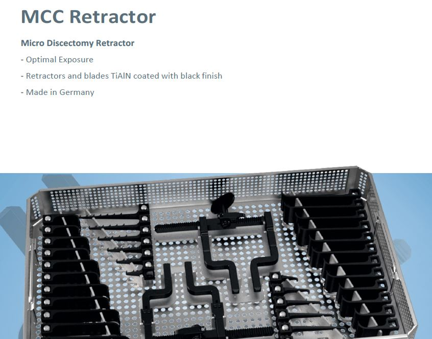 Wirbelsäulen Instrumente MCC RetractorMicro Discectomy Retractor