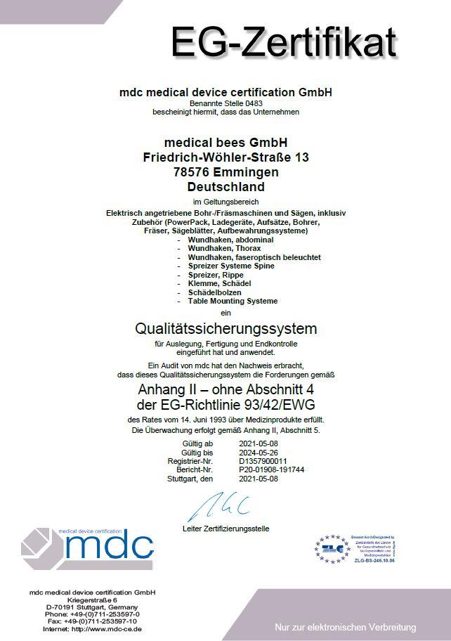 Bild vom Anhang-II-EG-Zertifikate